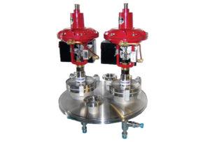 cryogenic custom manifold ln2 coldbox switcher