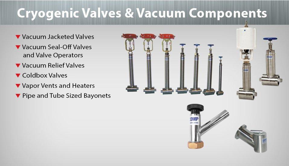 cryocomp cryogenic valves