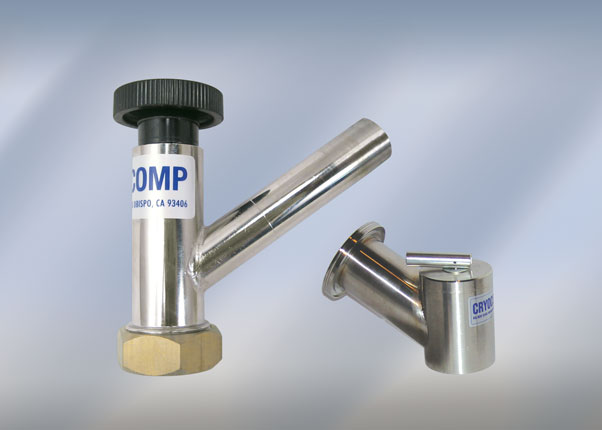 An Integral Component In The Design Of Any Cryogenic Vacuum Vessel Or Enclosure Is Seal Off Valve These Devices Are Sized According To