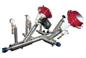 cryogenic custom manifold liquid hydrogen fuel