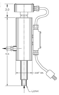 vapor vent heater model 1500