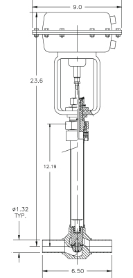 cryogenic-valve-c2081t-a22a-drawing