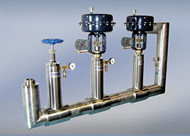 custom cryogenic manifold