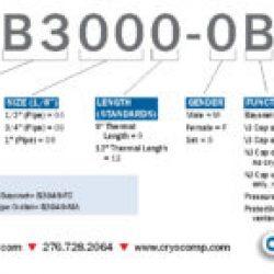cryogenic bayonet part numbering