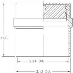 vacuum seal-off valve