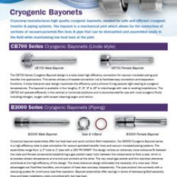 cryocomp bayonet connections brochure