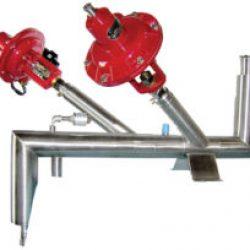 cryogenic custom manifold liquid nitrogen test flow