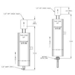 cryogenic vapor vents